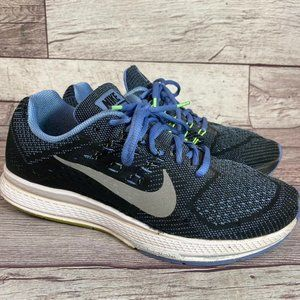 Nike Zoom Structure 18 running shoe black blue